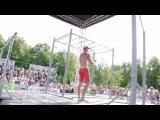 Чемпионат мира по ВОРКАУТ 2012 Выступление Жеки Кочерги часть 2)