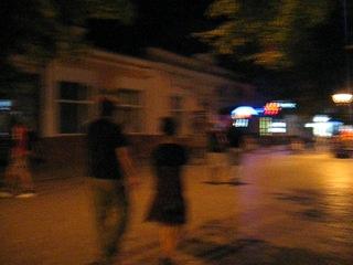Naked man on Pushkina str)