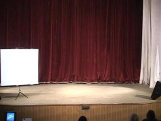 Выступление команды СИБИТ совместно с СРШБ в Москаленском районе (выездная профориентационная программа)