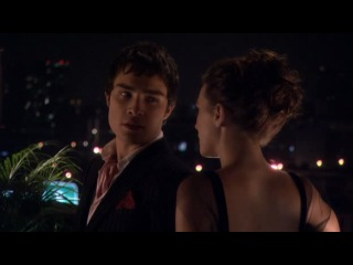 Чак и Блер на балконе или