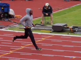 Asafa Powell Block Start 120fps