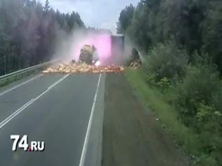 Страшная авария 21.06.2012 под Юрюзанью и Усть-Катавом