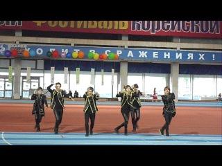 Выступление Febris Erotika на 19-м фестивале корейской культуры 12.06.12