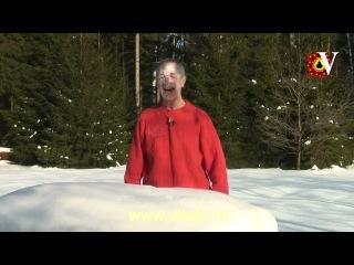 Доктор Попов Лечение снегом Омолодение лица СИЛА ЗИМЫ