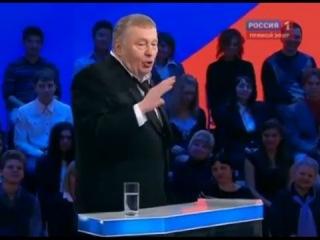 Миллион просмотров набирает в интернете видео с перепалкой Жириновского и Пугачевой