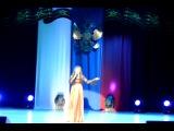 Анастасия Отт - Синева (26.02.2012 Конкурс военно патриотической песни г.Нягань)