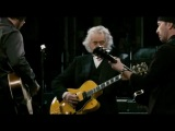 Jimmy Page, Jack White and The Edge playing In my time of dying