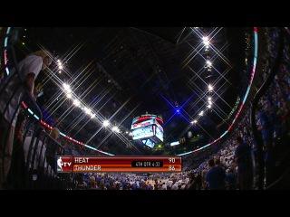 NBA Playoffs 2012 / The Finals / Game 2 / Oklahoma City Thunder vs Miami Heat   Part 3