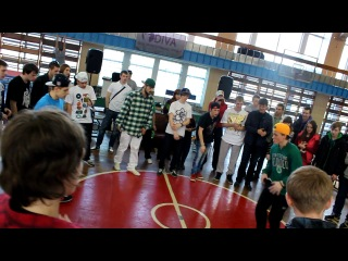 Feet battle feet - c-walk championship in saint-p. prince - первый выход в финале.