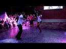 Очень чувсвенный танец Сальса бачата Ataca Jorgie Jorge Burgos y La Alemana Tanja Kensinger