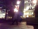 Танцуем с огнем на Дворцовой набережной под гоатранс