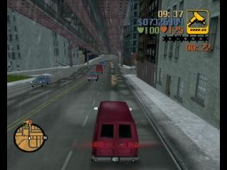Миссия 25 Big'n'veiny Большой и жилистый Прохождение GTA 3