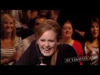 Adele's Laugh (мы с ней дико похоже хохочем! :) )
