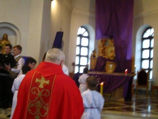 Вербное воскресенье 2012