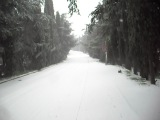Снег на ЮБК.Гурзуф