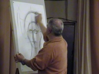 Мастер-класс профессора иконописи Афинского университета Георгиоса Кордиса (часть 1).
