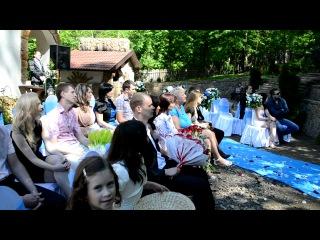 Свадьба Денис и Екатерина (любительская сьёмка) 6минут