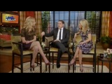 Emily VanCamp on 'Live with Kelly' (12.06.11)
