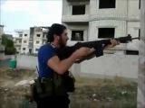 Сирия. Работа снайпера. Как армия Асада перемалывает врагов.