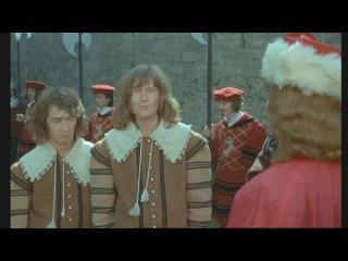 Четверо против кардинала (Фильмы Франции 1974 года) продолжение 1 части