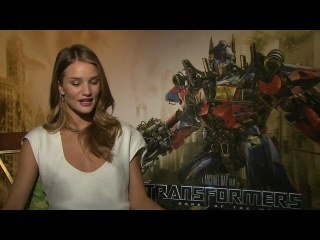 Rosie Huntington-Whiteley Uncut Interview - Transformers 3- Dark of the Moon