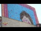Створення наййбільшої картини з цукерок у м. Ялта 11 серпня 2012 року