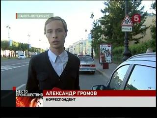 В Петербурге на пешеходном переходе внедорожник сбил двух девушек, бежавших на выпускной вечер — Репортаж