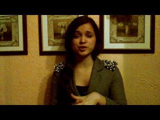 Мила Сивацкая даёт видео интервью для сайта SAY.TV