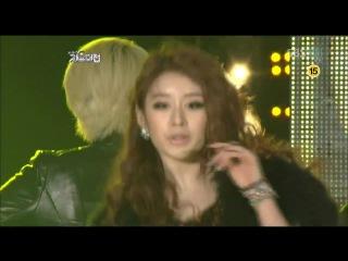 Sunhwa, Fei (miss A), Hyorin (Sistar), Jiyeon (T-ara), G.NA, Hyuna (4Minute) & Ga-in (Brown Eyed Girls) - Run the world (SBS Gayo Daejun 29.12.2011)