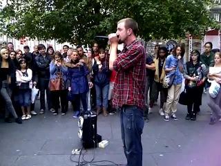 Dave Crowe. Битбокс+dubstep+губная гармошка