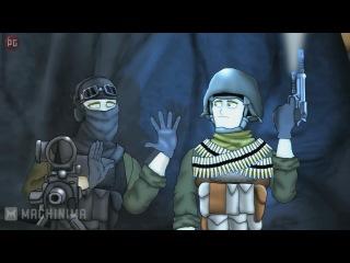 Друзья по Battlefield – Бесшумный снайпер 1 сезон 2 серия