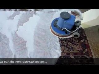 Шампунирование ковров при помощи NPR 1515