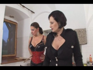 Icequeen ''owk'' madame charlotte & lady asmondena choose the perfect slave