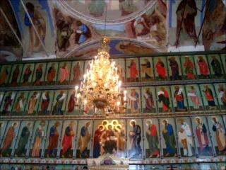 Хор братии Александро-Свирского монастыря