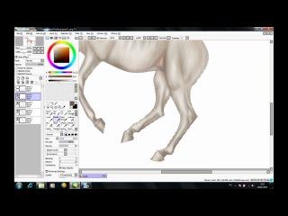 Как я рисую лошадей