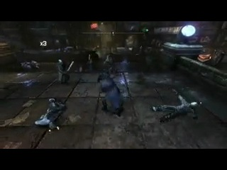 бэтмен аркам сити игра за бэтмена и женщину кошку