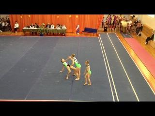 Соревнования по акробатике г.Томск 1 упражнение