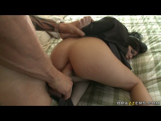 Brazzers - Rebeca Linares - Resisting Anal Arrest Pt 1