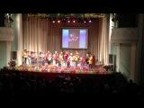 г.Альметьевск. отчетный концерт муз.шк.№2. в татарском государственном драматическом театре.