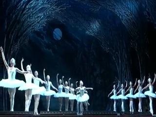 балет Лебединое Озеро Одетта - Одилия - Екатерина Зварко (Гераськина) принц Зикфрид - Михаил Ткачук