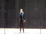 репетиция Алина Камалян - баллада о войне