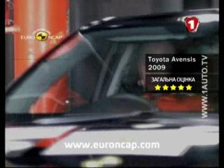 Краш-тест Toyota Avensis и Dacia Logan в «руках» EuroNCAP