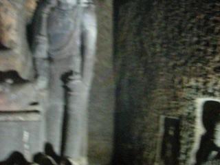 Буддистские пещеры Аджанты 1