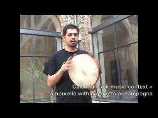 NAFDA Frame Drum Features 6 - Tamburello - Calabrian