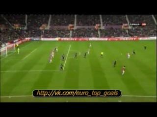 17.02.2012 Сток Сити — Валенсия 0:1 М. Топал красавец гол