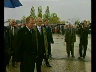 Ан-140-первый серийный самолет (Харьков,1999)[ Украина Україна Ukraine ] Музыка: Вагнер