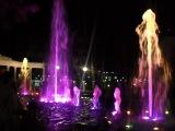 Цветной фонтан в Геленджике!!!)))