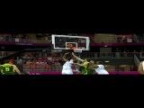ХХХ Летние Олимпийские Игры Баскетбол / Мужчины Группа A / 3-й тур / Франция - Литва