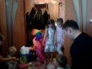 """День рождение с клоуном Кнопка.Агентство Праздника """"Рыжий Кот"""""""