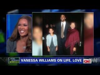 Ванесса Уильямс в прoграмме Пирса Мoргана на канале CNN #1
